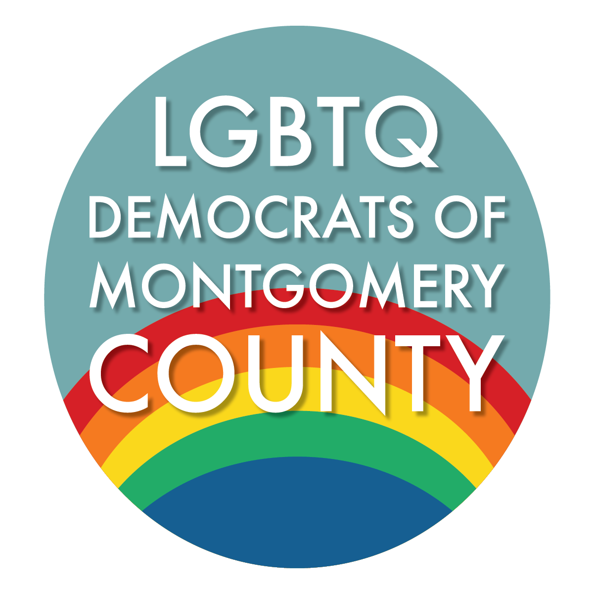 LGBTQ Democrats logo